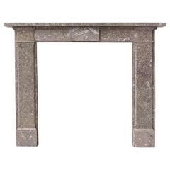 Regency Gothic Derbyshire Fossil Limestone Fireplace