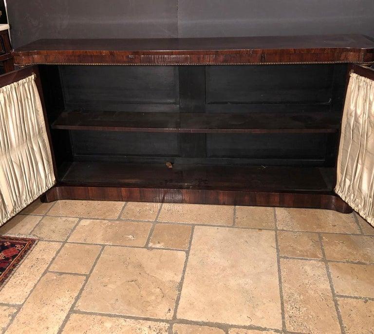 Regency Grill Door Credenza For Sale 1