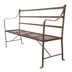 Regency Iron Garden Bench