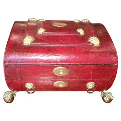 Regency Jewelry Dressing Sewing Box