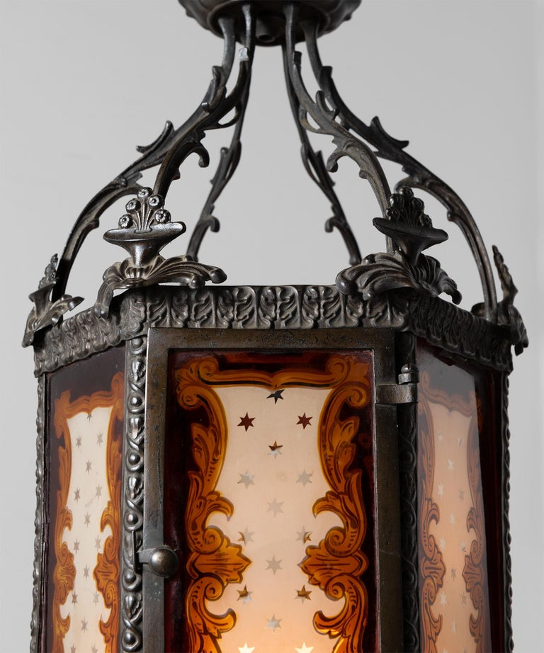 English Regency Lantern For Sale