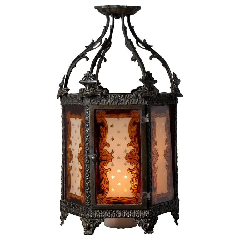 Regency Lantern For Sale