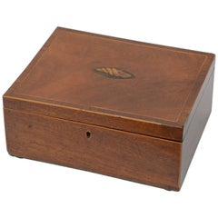 Regency Mahogany and Inlaid Decorative Box