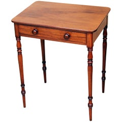 Regency Mahogany Antique Small Side Table