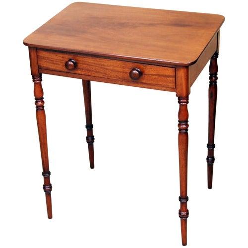 Regency Mahogany Antique Small Side Table