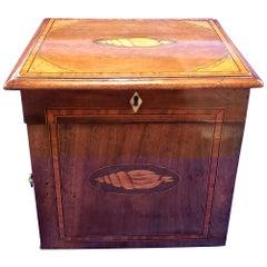 Regency Mahogany Apothecary Cabinet