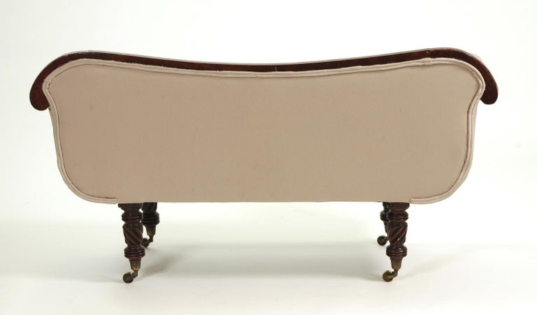 Regency Mahogany Child's Sofa, c. 1820 For Sale 1