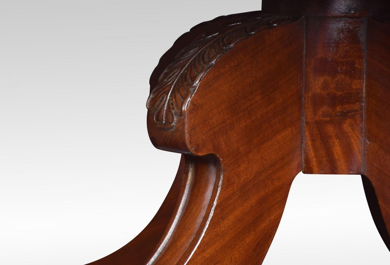 19th Century Regency mahogany coffee table For Sale