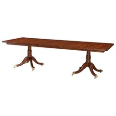 Regency Mahogany Extending Dining Table