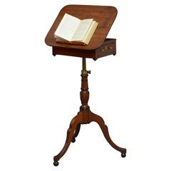 Regency Mahogany Reading Table