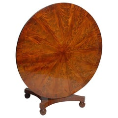 Regency Mahogany Round Table