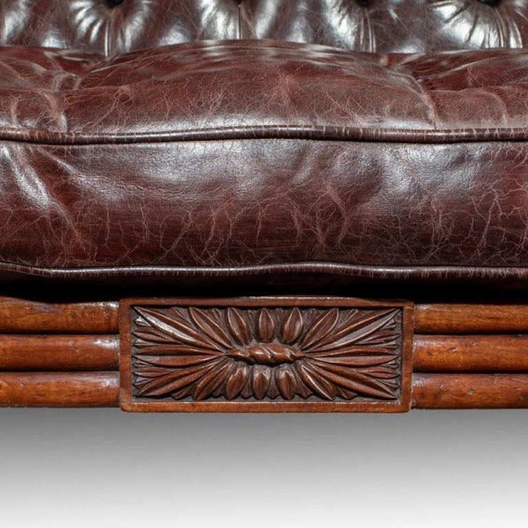 Regency Mahogany Sofa In Good Condition For Sale In Lymington, Hampshire