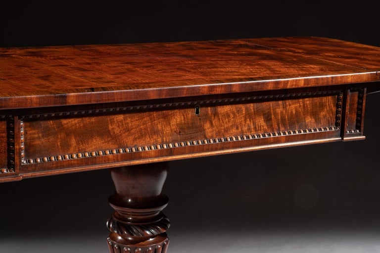 Regency Mahogany Sofa Table of Small Proportions William Trotter For Sale 4