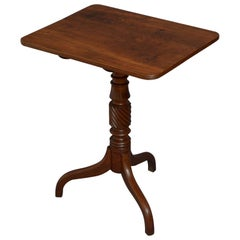 Regency Mahogany Tilt Top Table