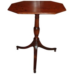 Regency Mahogany Tilt-Top Wine Table