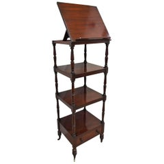 Regency Mahogany Whatnot, circa 1820