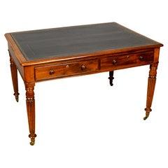 Regency Mahogany Writing Table by W. Priest
