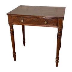 Regency Mahogany Writing Table, circa 1810