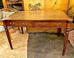 Regency Mahogany Partners Writing Table