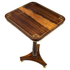 Regency Occasional Table Attributed to Marsh and Tatham