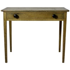 Regency Original Painted Pine Side Table