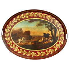 Regency Painted Tole Tray
