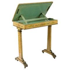 Regency Painted Writing Table