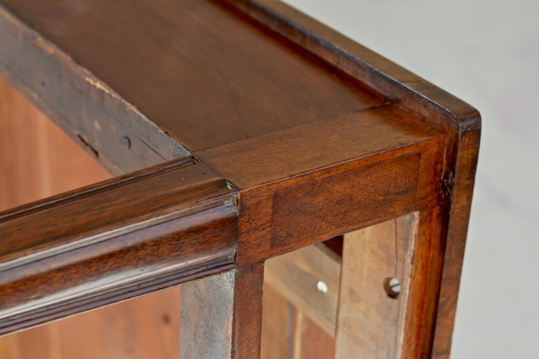 Regency Partners Desk or Writing Table of Mahogany For Sale 10