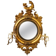 Regency Period Convex Gilt Mirror