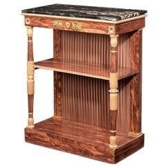 Regency Period Gilt Side Cabinet