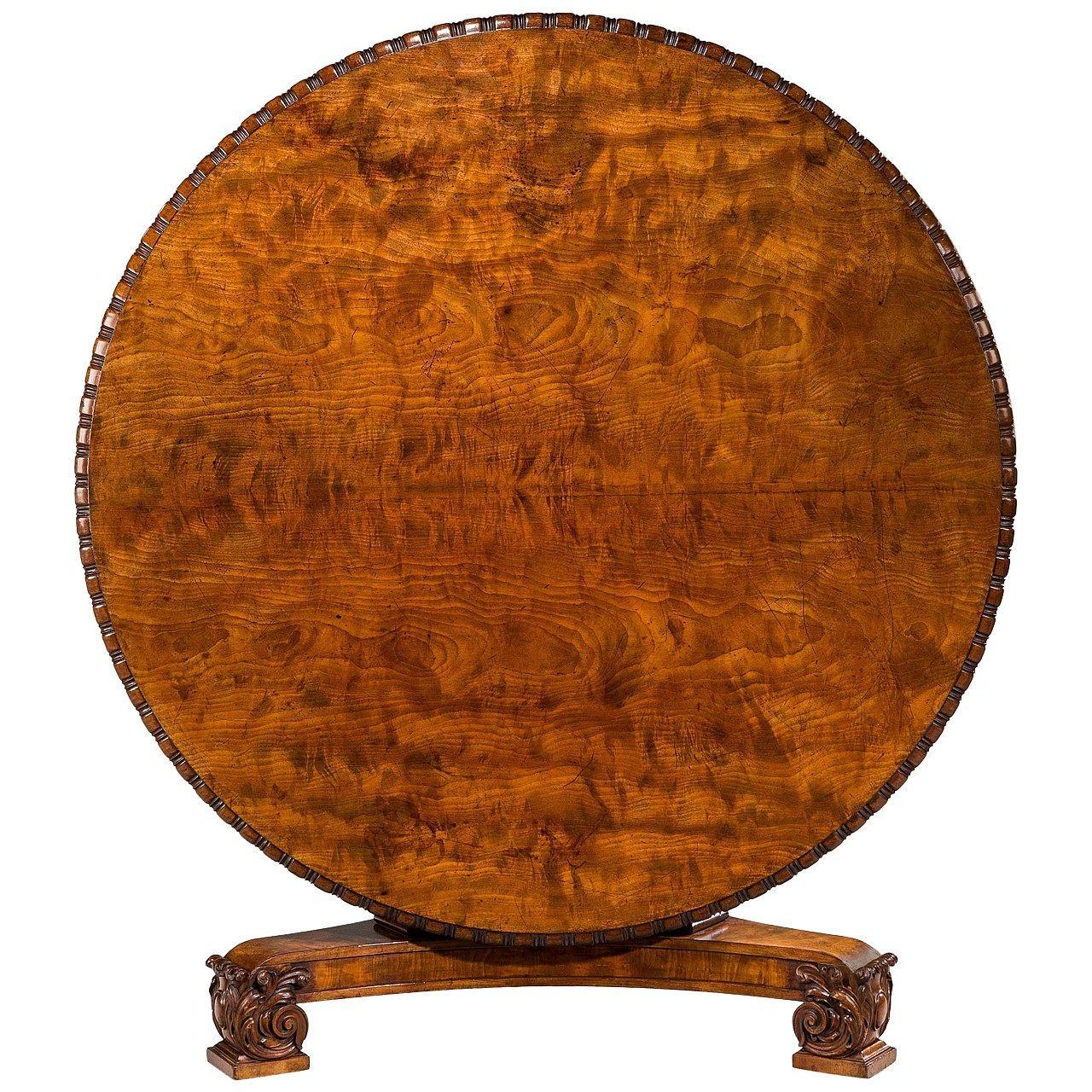 Regency Period Mahogany Centre Table