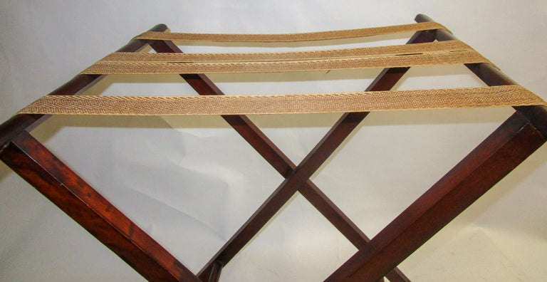 Regency Period Mahogany English Butler's Tray on Stand For Sale 5