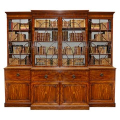 Regency Period Mahogany Library bookcase, circa 1820