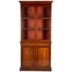Regency Period Mahogany Library Bookcase