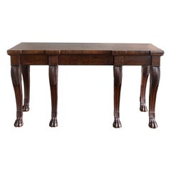 Regency Period Mahogany Serving Table