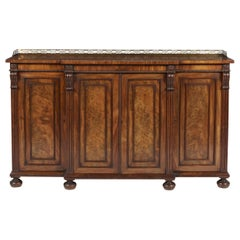 Regency Period Mahogany Side Cabinet Attributed to Gillows