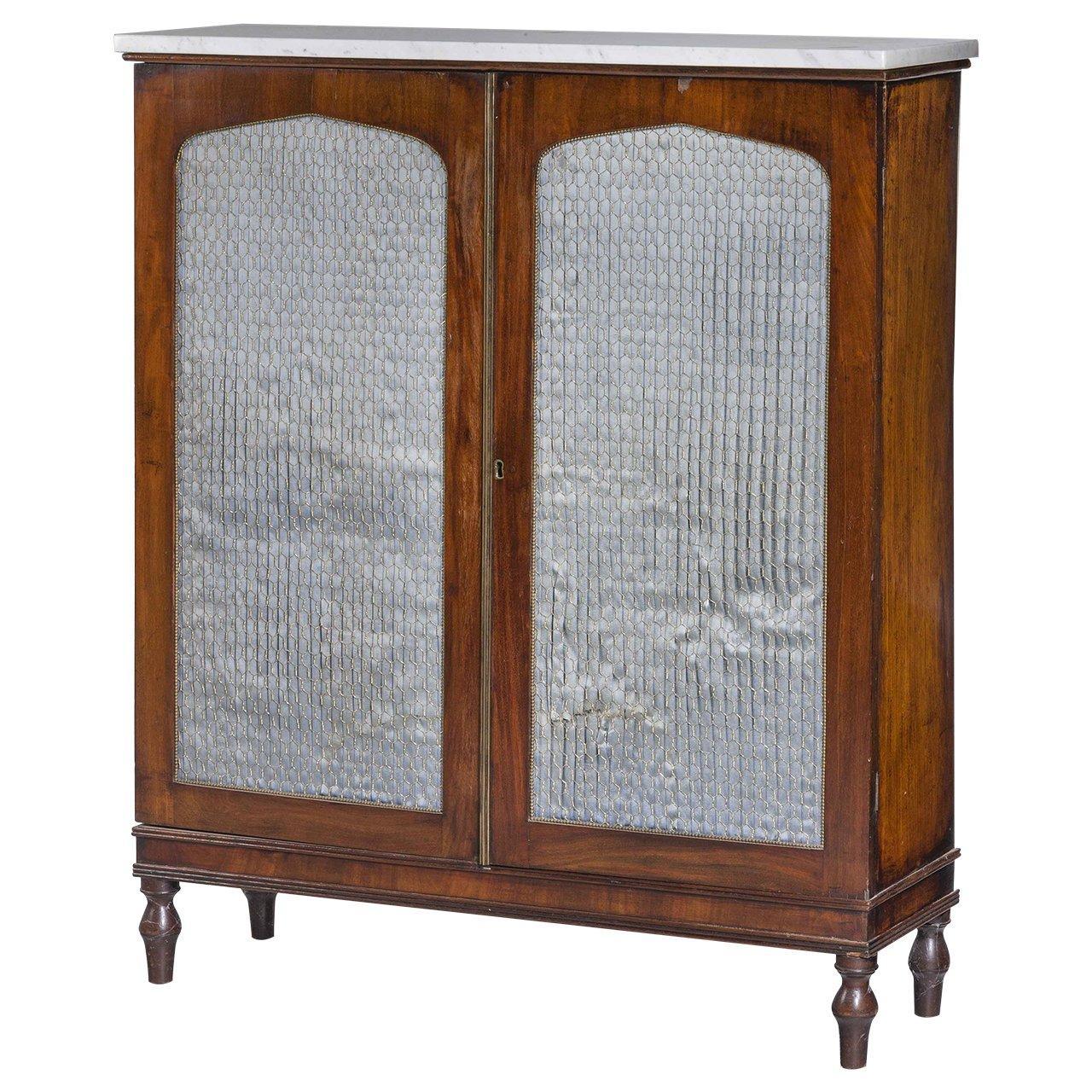 Regency Period Mahogany Side Cabinet