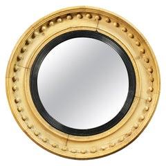 Regency Pine Convex Mirror