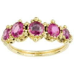 Regency Pink Sapphire Ring
