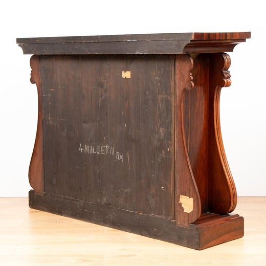 Antique And Vintage Secretaires 1495 For Sale At 1stdibs >> Regency Rio Rosewood Cabinet