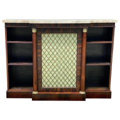 Regency Rosewood and Bronze Mounted Credenza