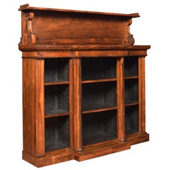 Regency Rosewood Open Bookcase by John Kendall