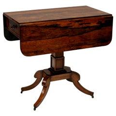 Regency Rosewood Pembroke Table