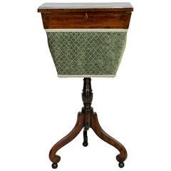 Regency Rosewood Sewing Table
