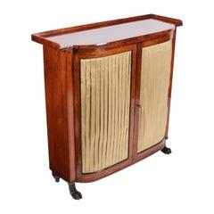 Regency Rosewood Side Cabinet, 19th Century