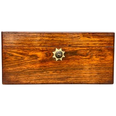 Regency Rosewood Teacaddy