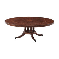 Regency Round Extending Dining Table