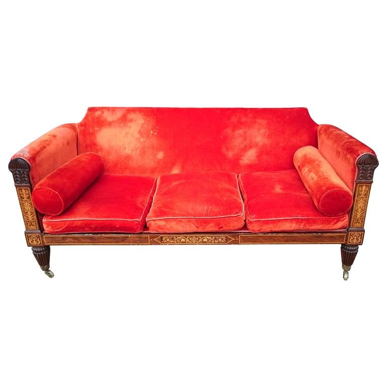 Regency Sofa For Sale