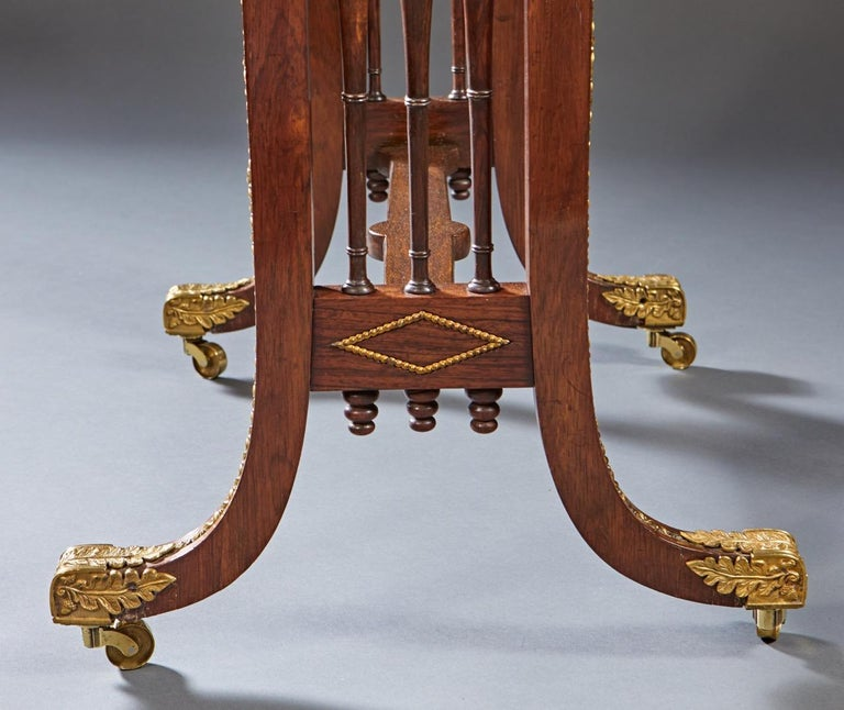 19th Century Regency Specimen Marble Top Table For Sale