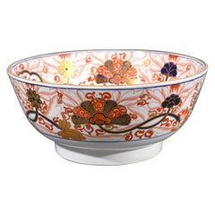 Regency Spode Imari Bowl, Pattern # 2283, Early 19th Century